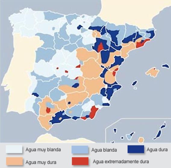 Calidad de agua en espa a por ciudades 2017 - Descalcificadores de agua precios ...